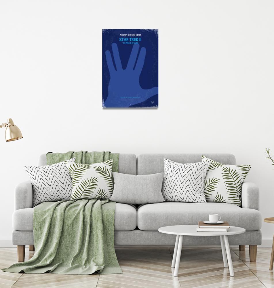 """No082 My Star Trek - 2 minimal movie poster""  by Chungkong"