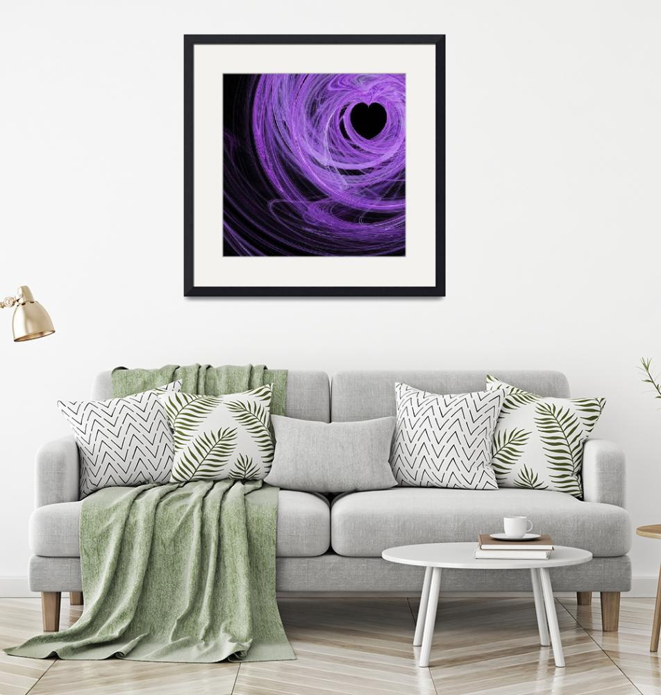 """""""Love Swirls . Square . A120423.689""""  by wingsdomain"""