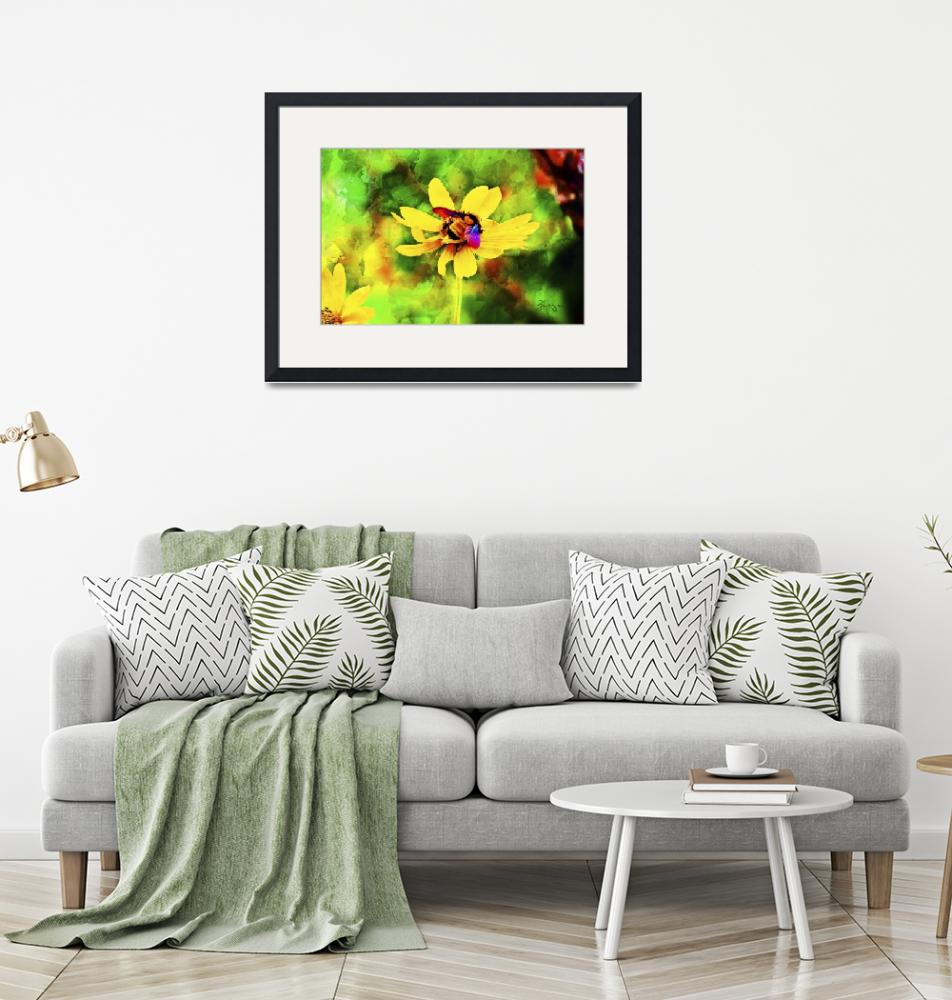 """""""Lost Maples Bumble Bee""""  by BonnieFeasterChapa"""