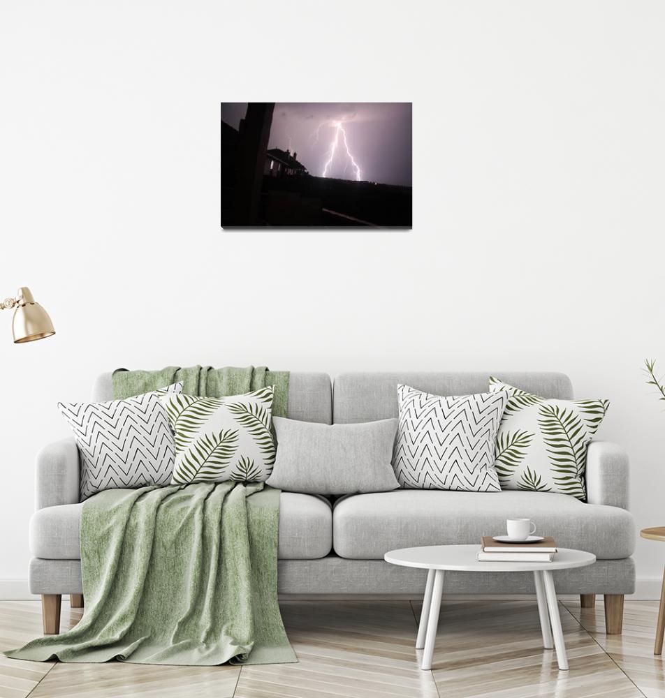 """Lightning Strike""  (2013) by DarinWood"