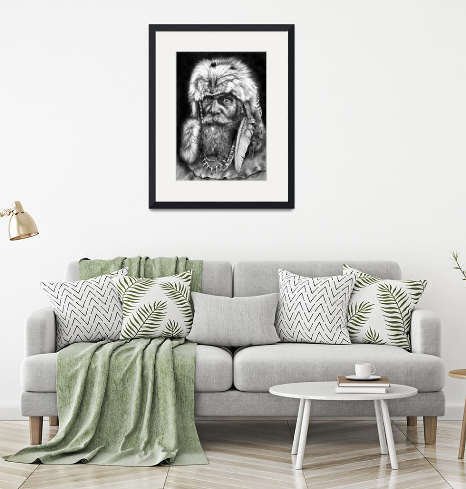 """""""Caesar Of The Wilderness""""  (2009) by MightyFineArt"""