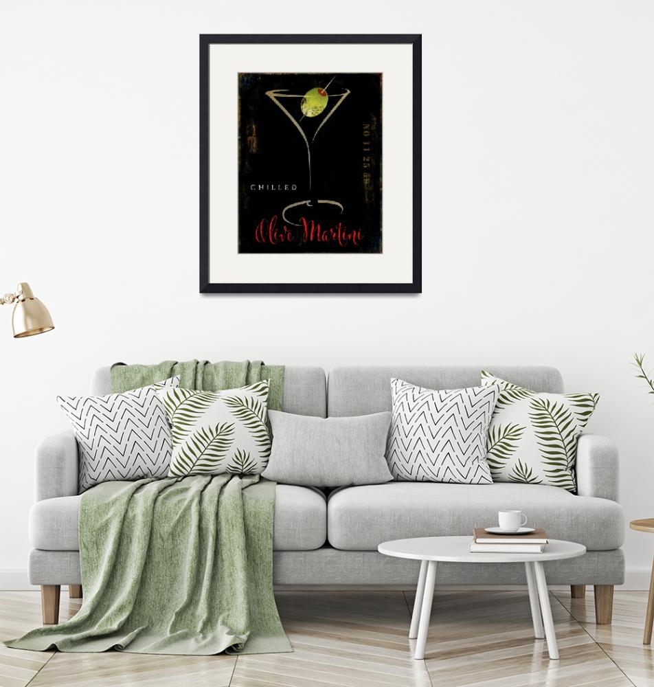 """""""Olive Martini""""  (2018) by MindyDidIt"""