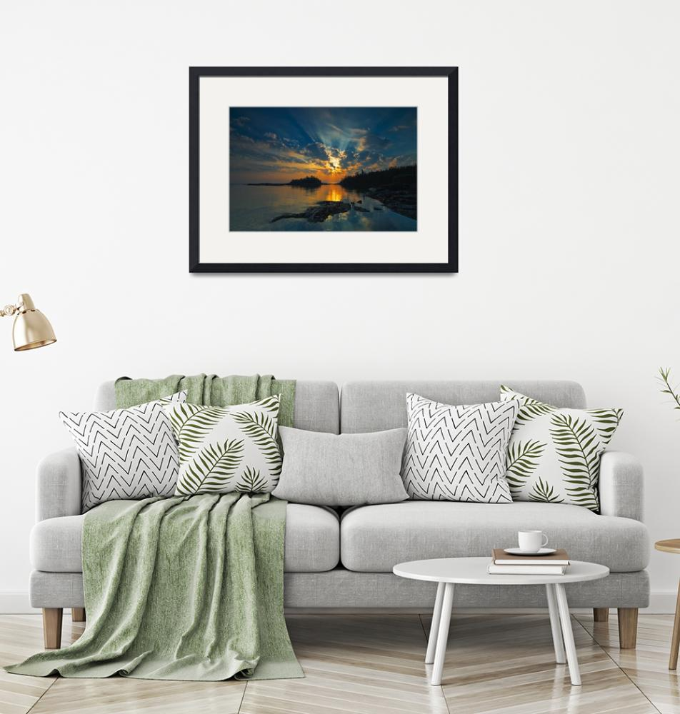 """Sunrise On Georgian Bay, Fathom Five National Mari""  by DesignPics"