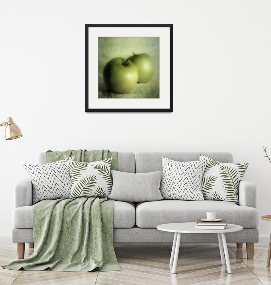 """apple painting""  by Piri"