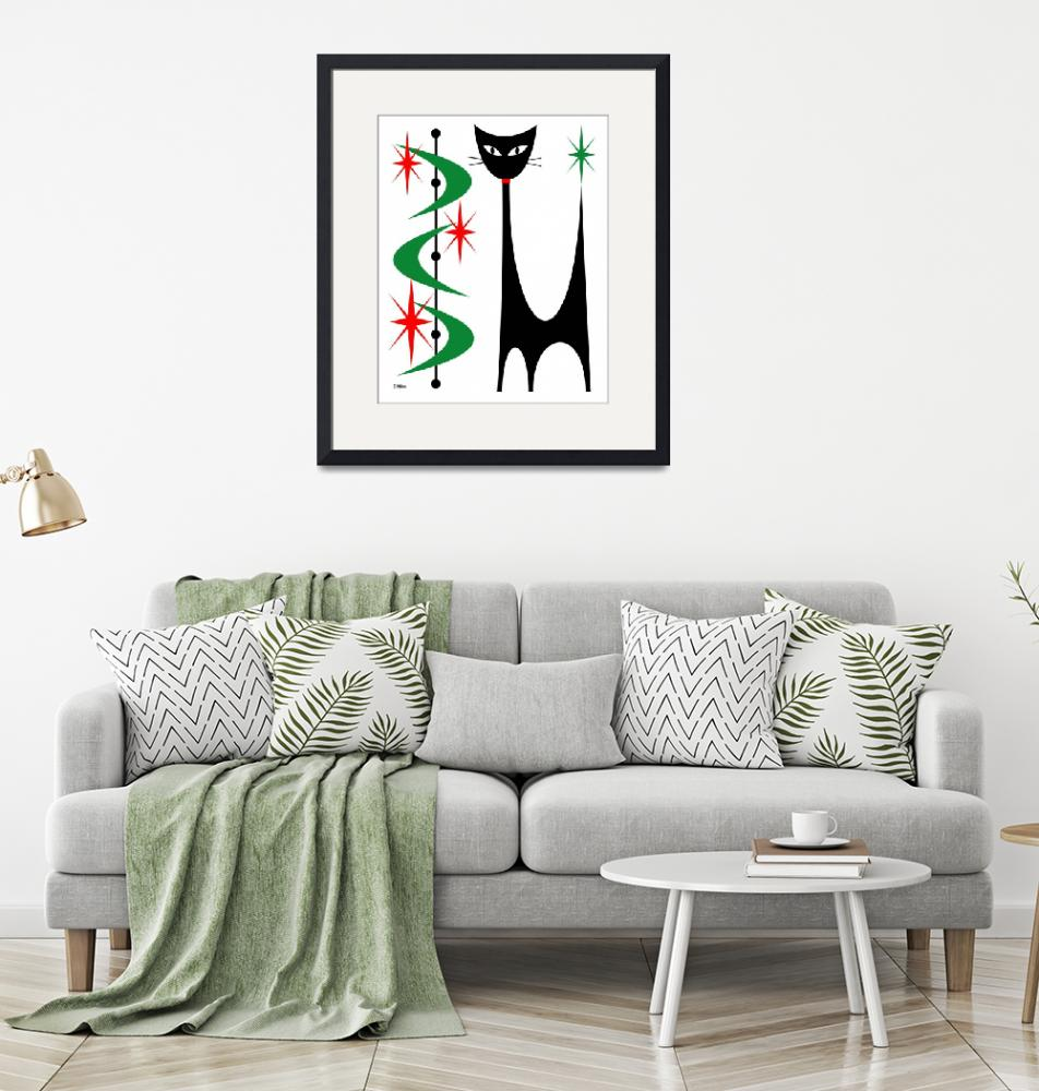 """""""Atomic Cat Christmas""""  by DMibus"""