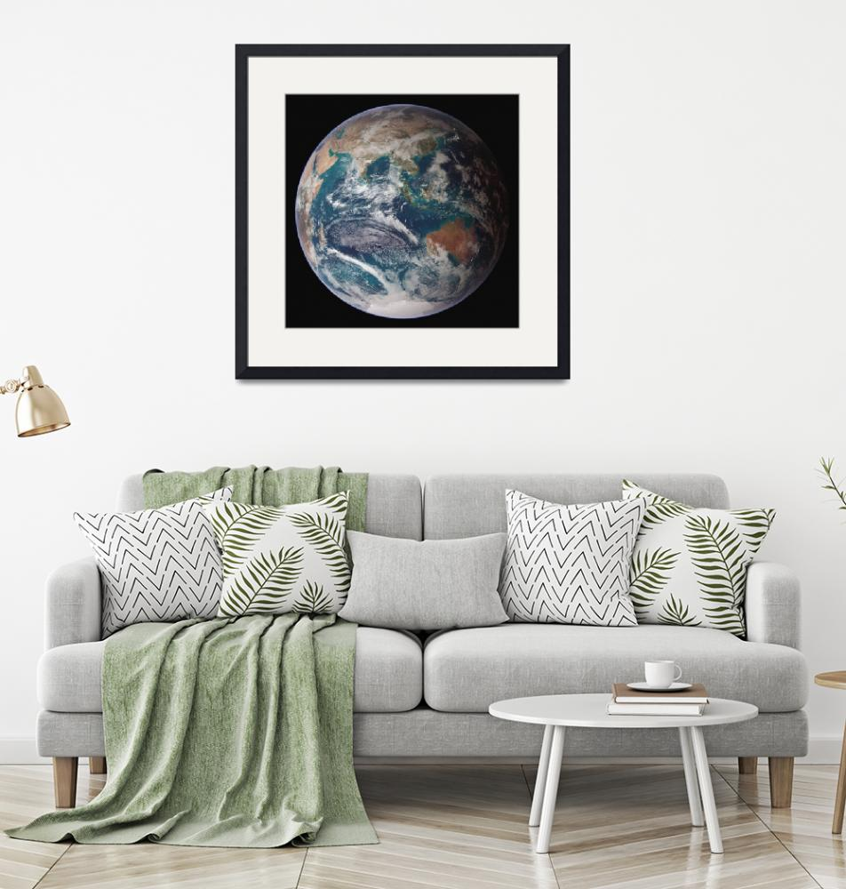 """""""Full view of Earth""""  by stocktrekimages"""