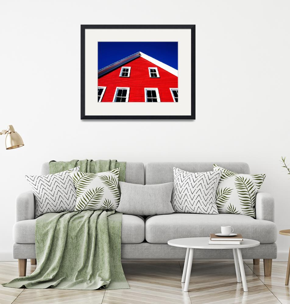"""""""Lunenburg Red and Blue""""  by swisscan"""