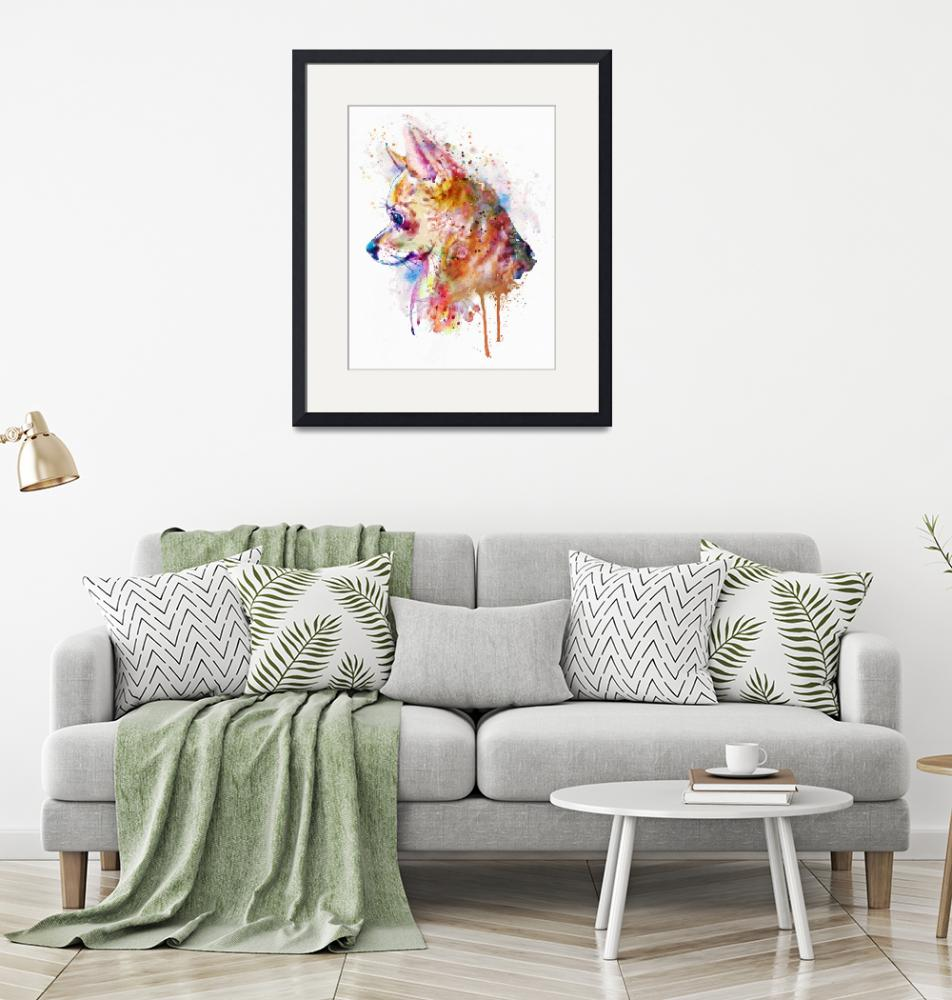 """""""Watercolor Chihuahua""""  (2018) by MarianVoicu"""