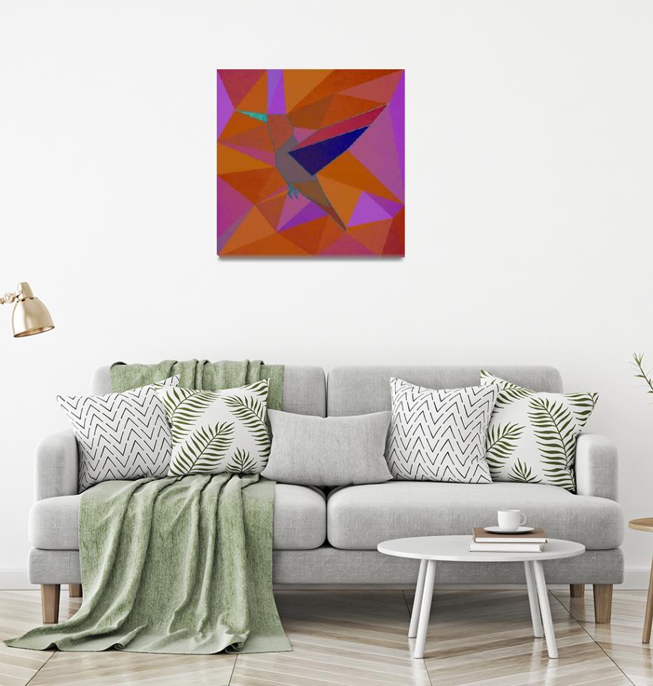 """Hummingbird""  (2018) by Design4uStudio"