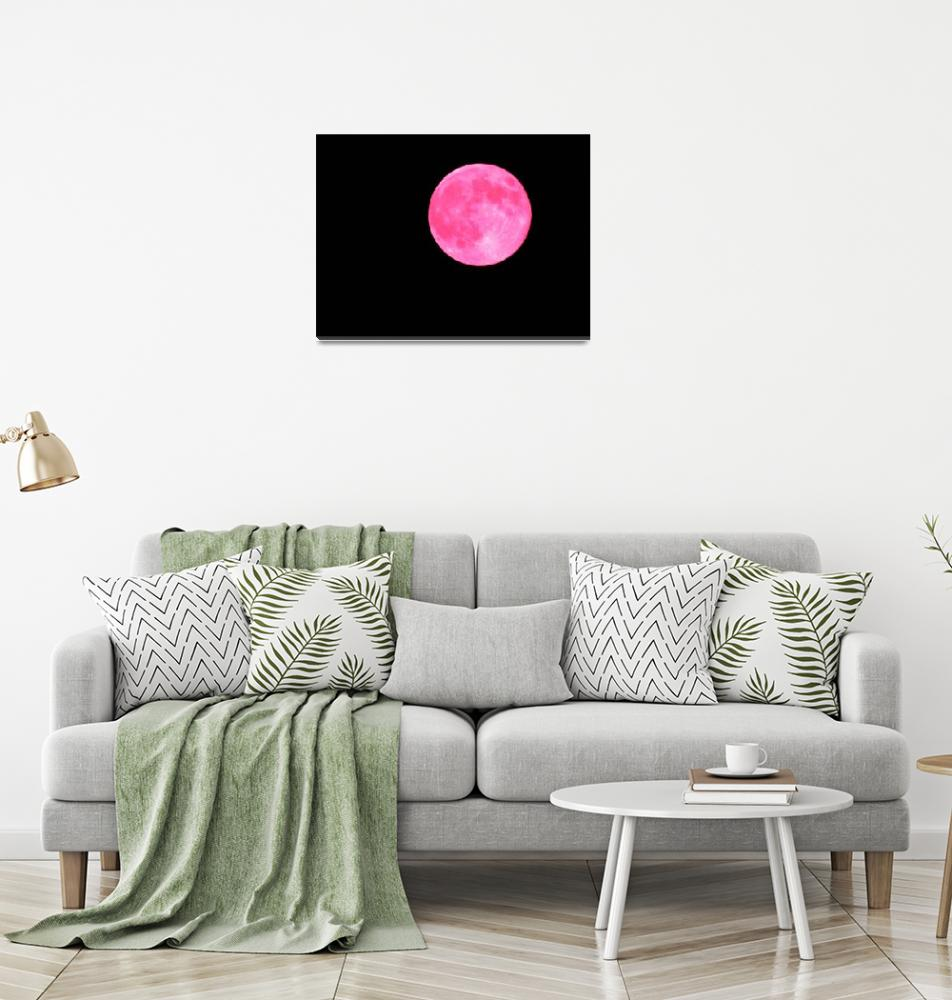"""""""Pink Moon""""  (2014) by JGoodrell"""