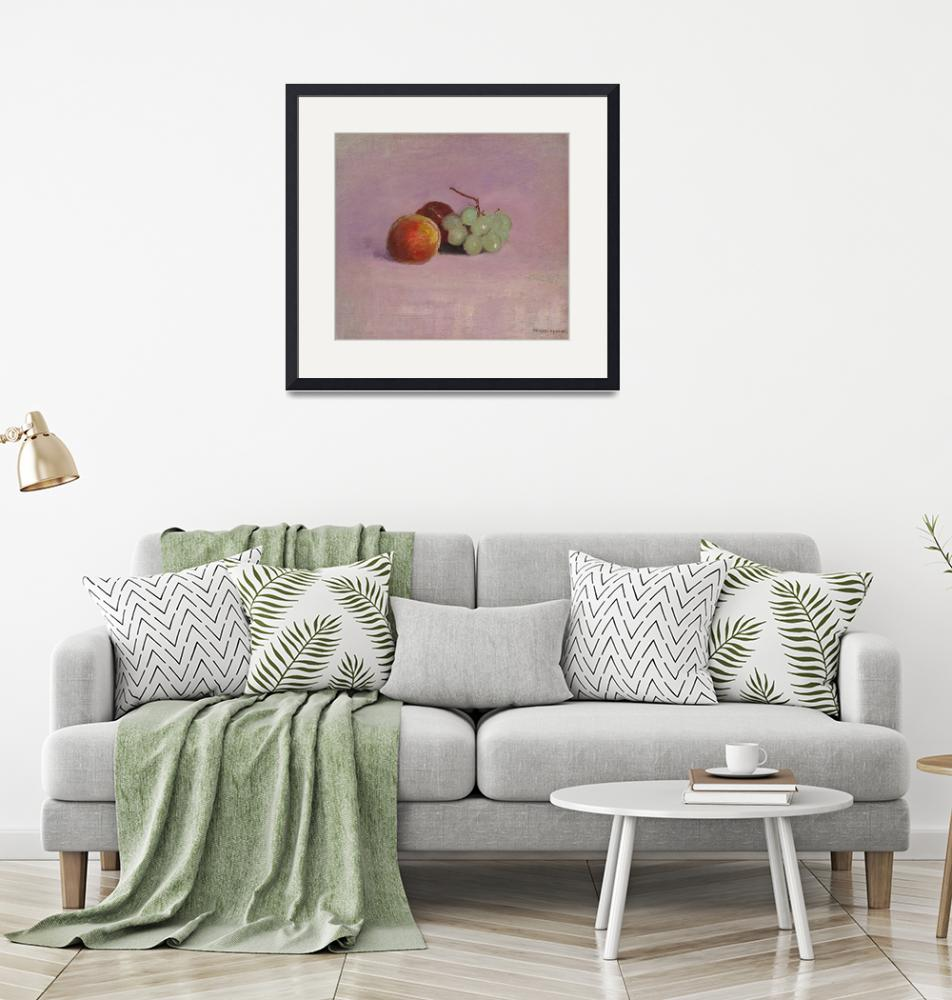 """Still Life with Fruit by Odilon Redon""  by FineArtClassics"
