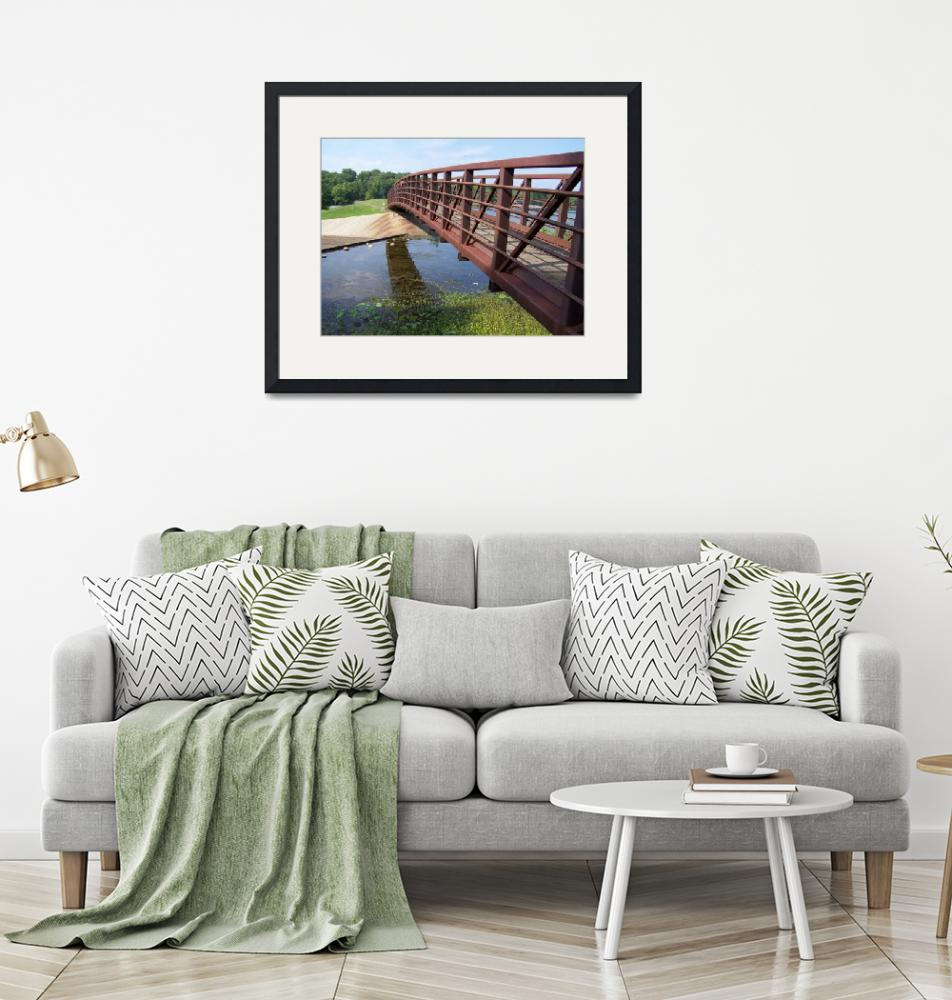 """Lake Lincoln Bridge 2""  by ArtisticDesigns"