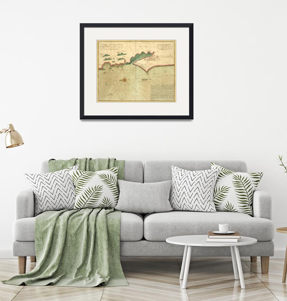 """""""Vintage Map of Lima Peru (1702)""""  by Alleycatshirts"""
