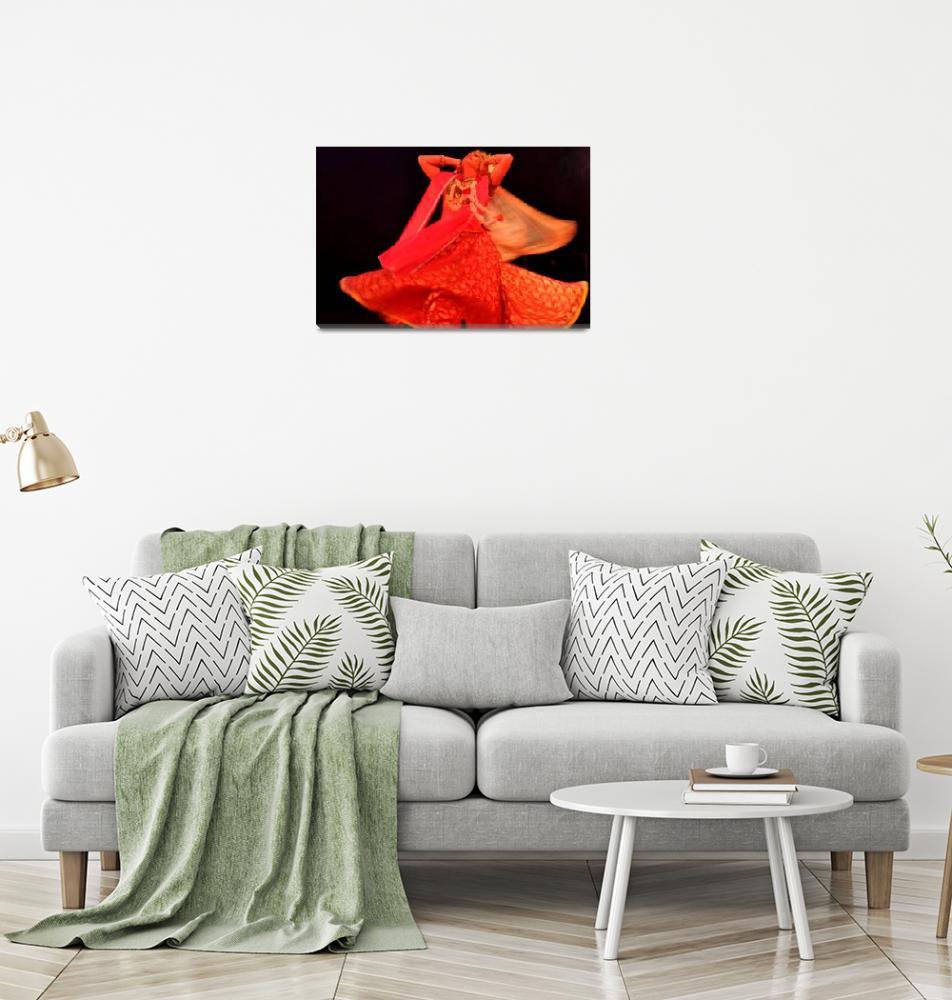 """Indian Dancer""  (2010) by TravelandBeyond"