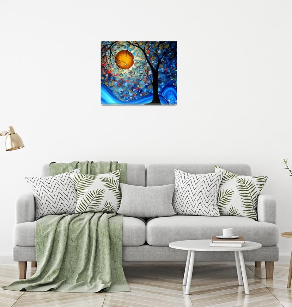 """""""""""Blue Essence"""" Original Landscape Painting""""  by meganduncanson"""