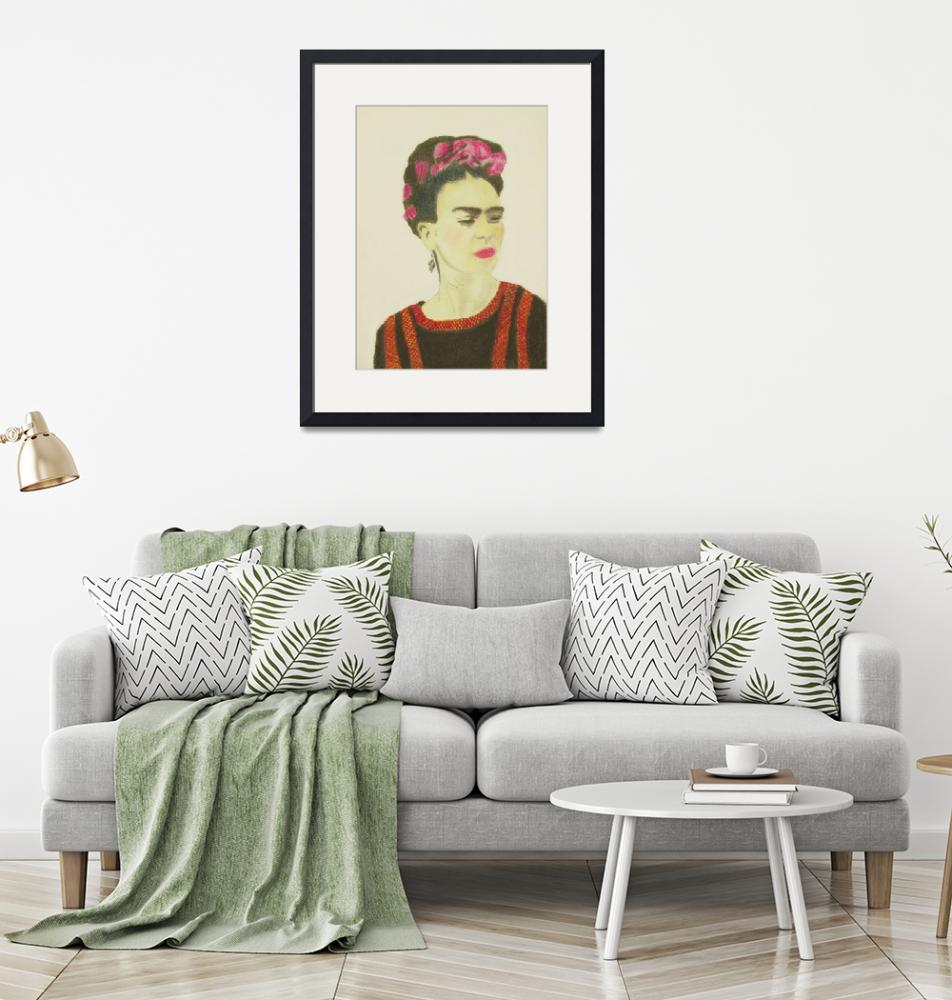 """Frida Kahlo""  (2017) by CreativeArtPhotography"