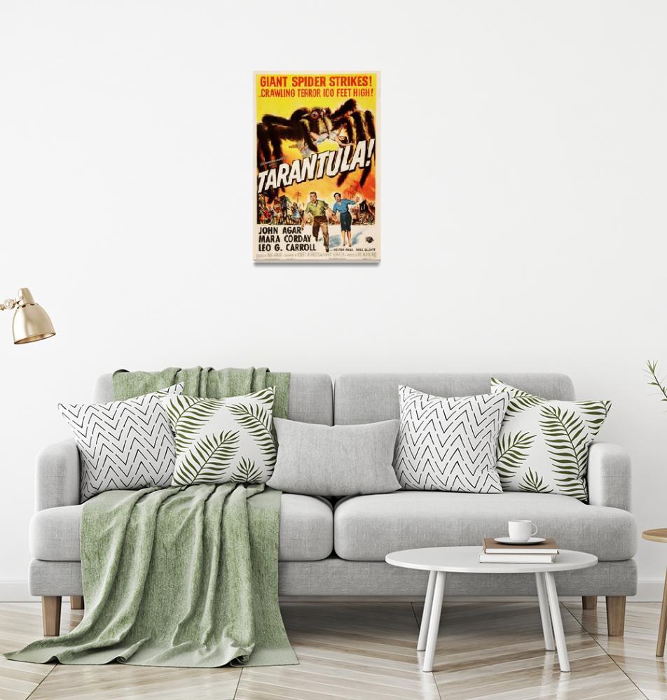 """Tarantula Movie Poster""  by Alleycatshirts"