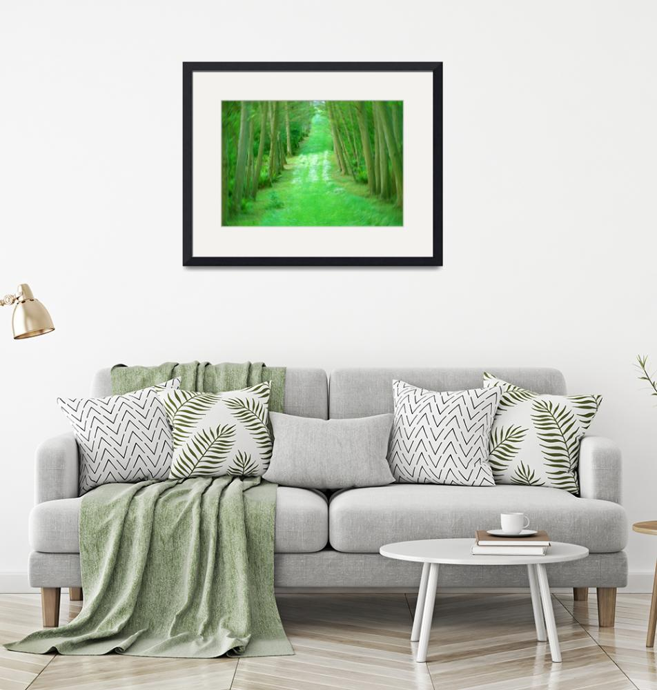 """""""Emerald Forest""""  by Ridenour"""
