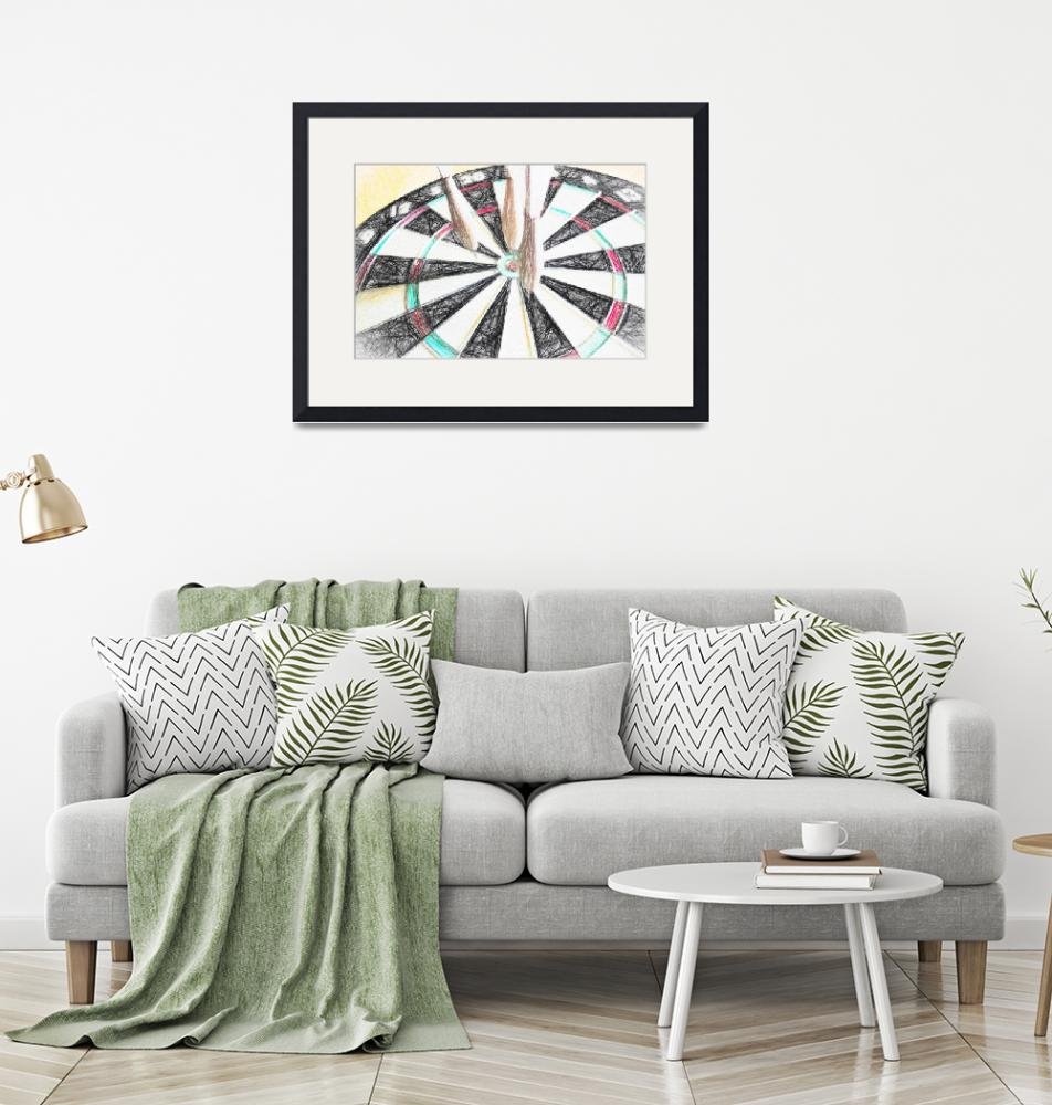 """""""Darts Abstract""""  by patsphotos"""