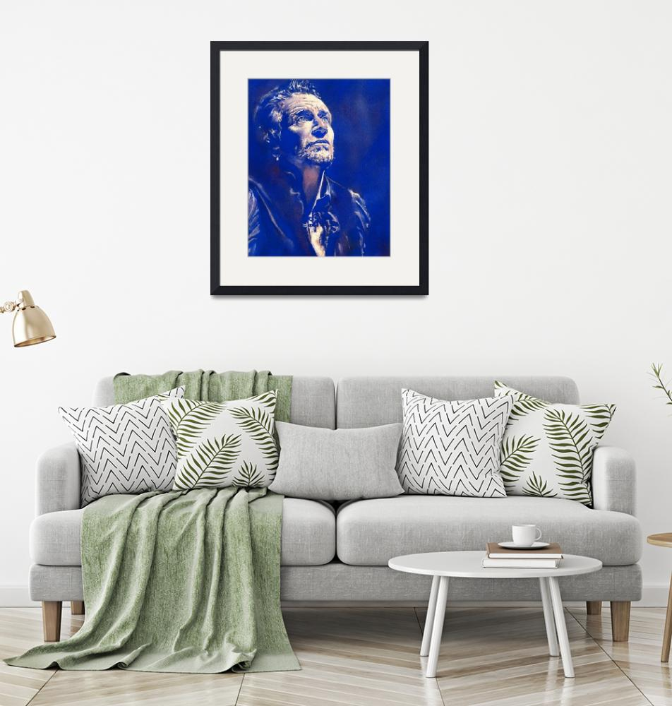 """Last Blue Bono"" (2020) by KellyEddington"