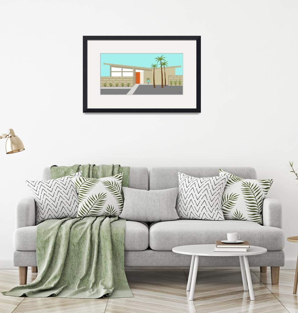 """""""Mid Century Modern House 1""""  (2014) by DMibus"""