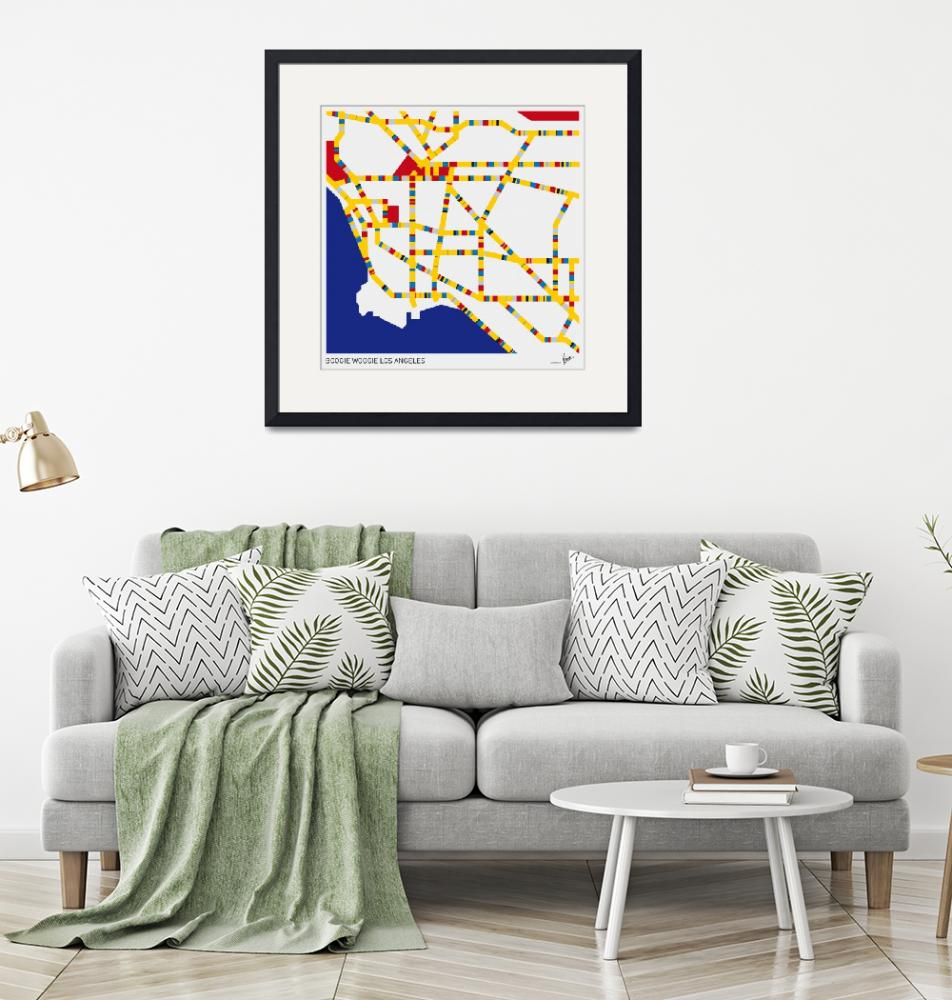 """""""BOOGIE WOOGIE LOS ANGELES"""" by Chungkong"""