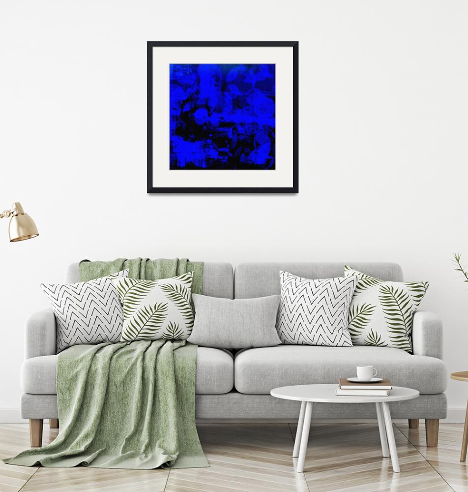 """""""Midnight Bubbles and Blue""""  by LisaSBaker"""