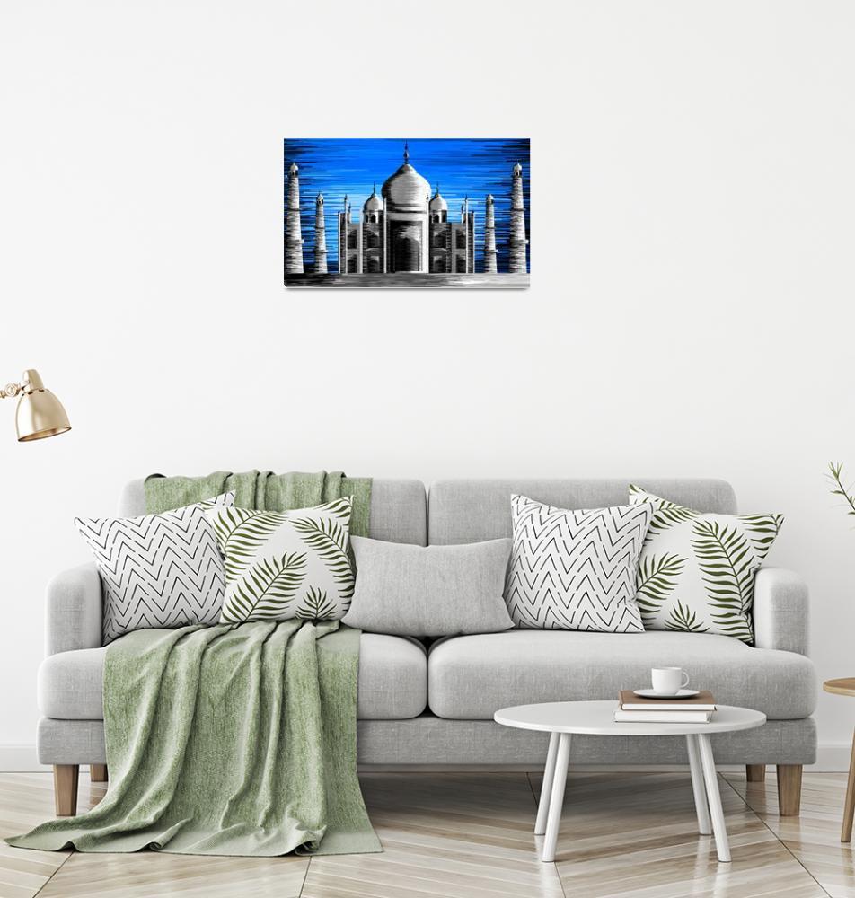 """""""Taj Mahal.""""  (2009) by digitalpainting"""