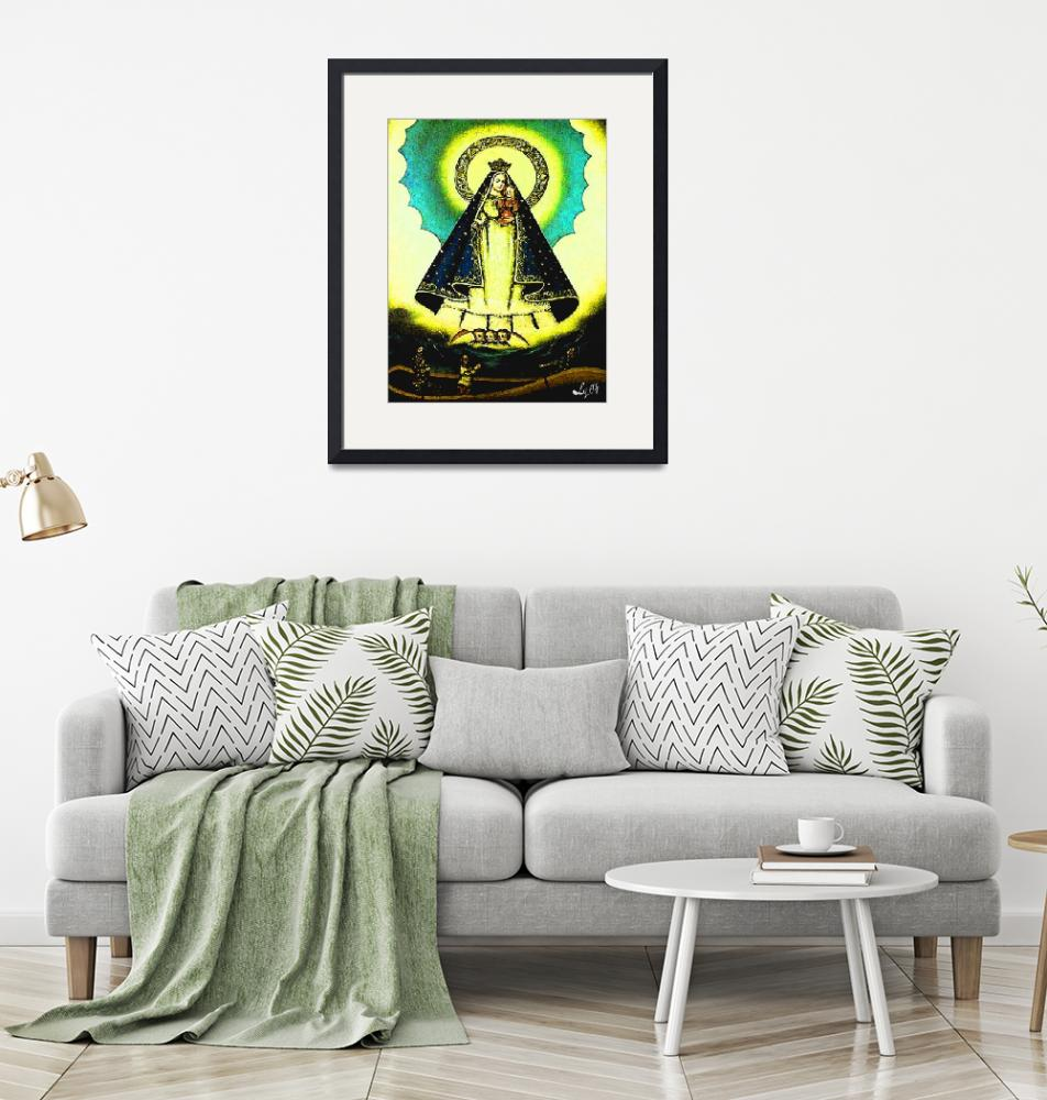 """""""OUR LADY OF CHARITY (CARIDAD DEL COBRE)"""" (2009) by AFROFUSION"""