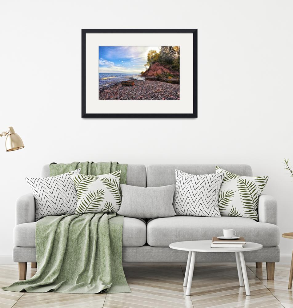 """""""Lake Superior Shoreline""""  (2019) by LJdesigns"""