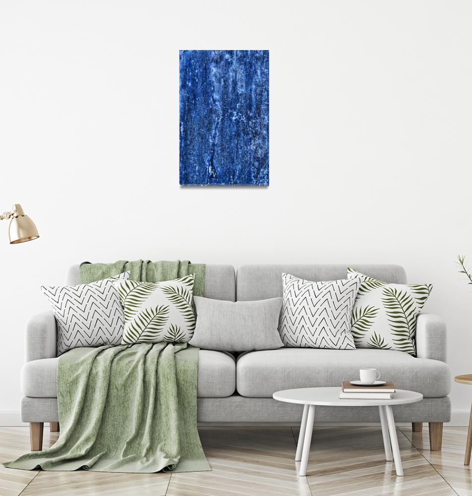 """Really BLUE, No 2""  (2019) by nawfalnur"