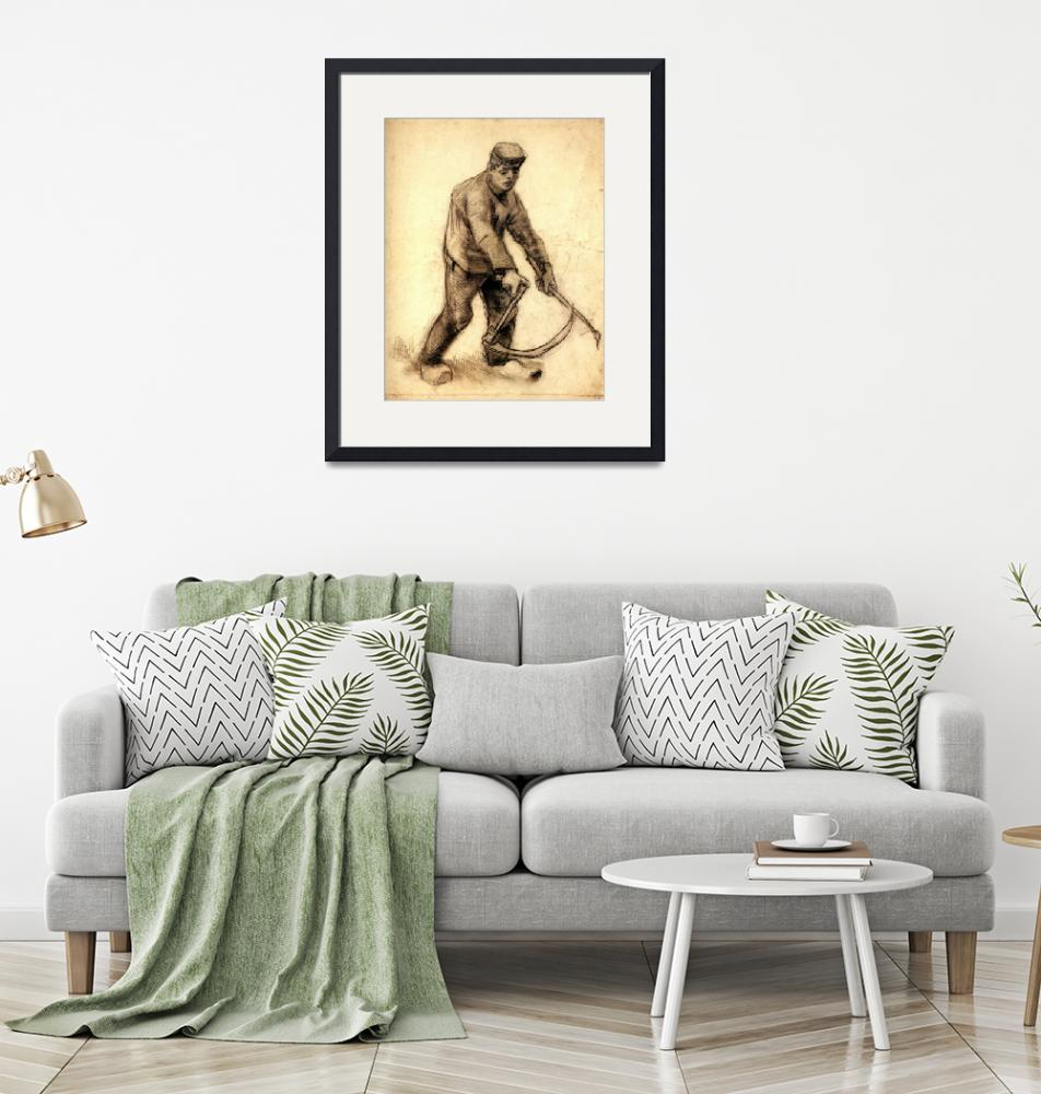"""Vincent Van Gogh Painting Framed Print""  by buddakats1"