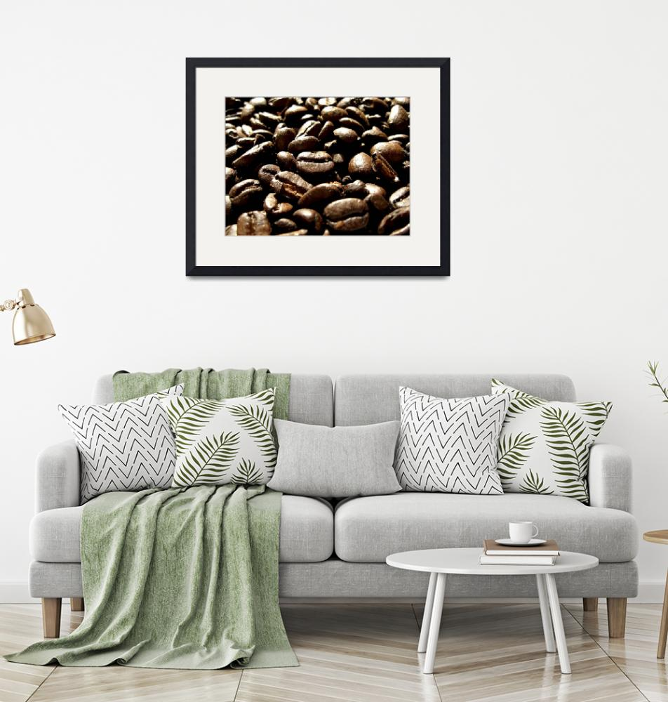 """Coffee Grains II""  (2008) by Alvimann"