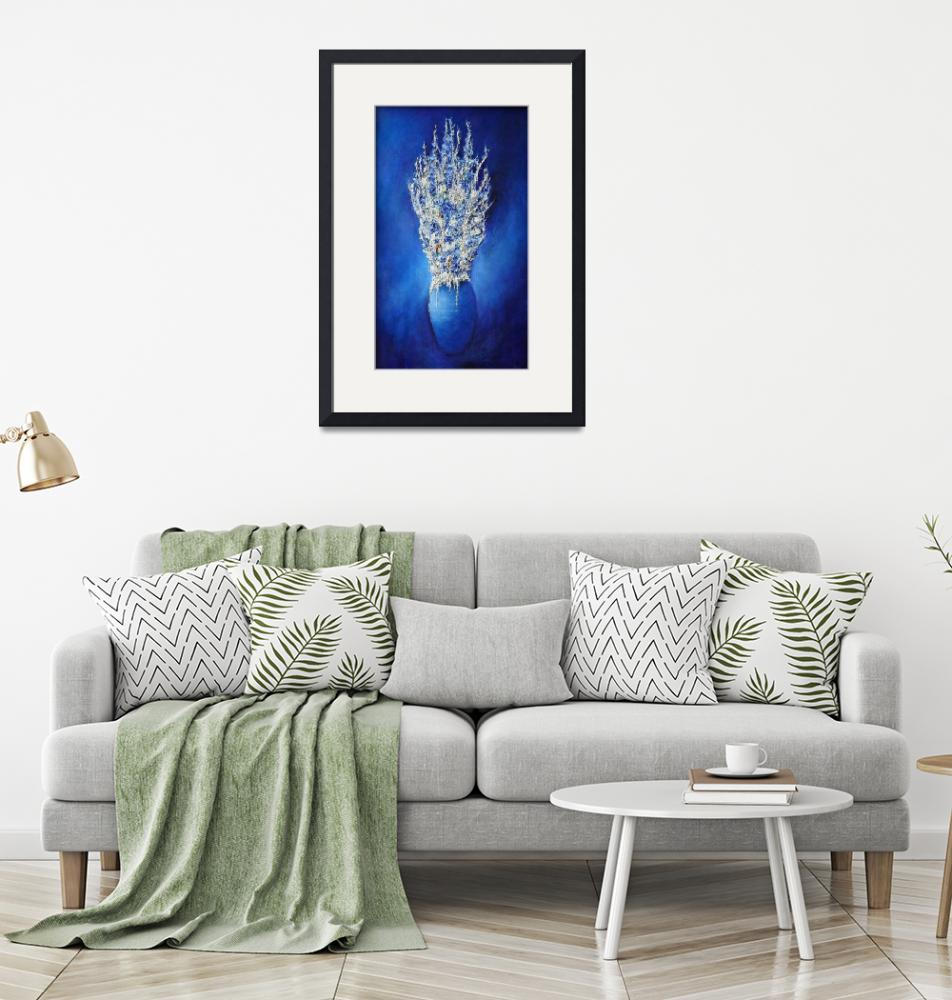 """""""Blue Vase""""  (1999) by donmartin"""