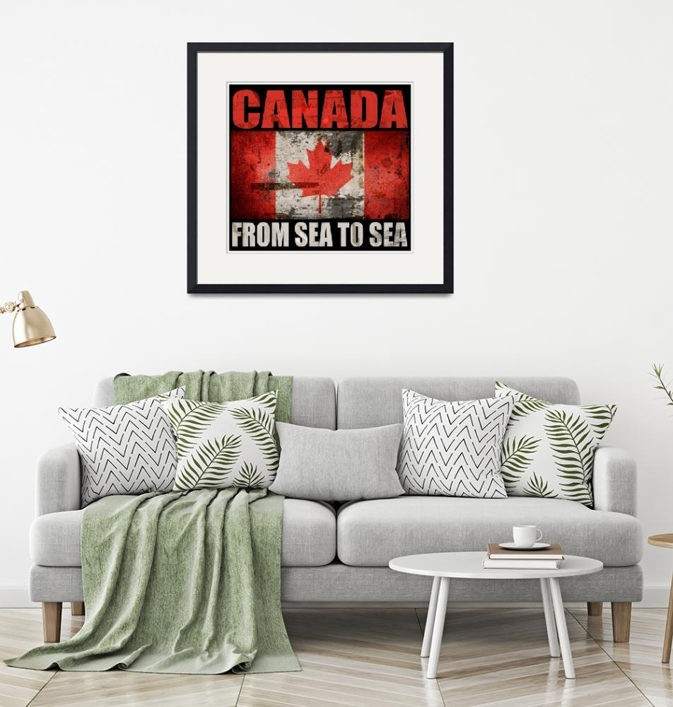 """CANADA-FROM SEA TO SEA""  (2016) by thegriffinpassant"