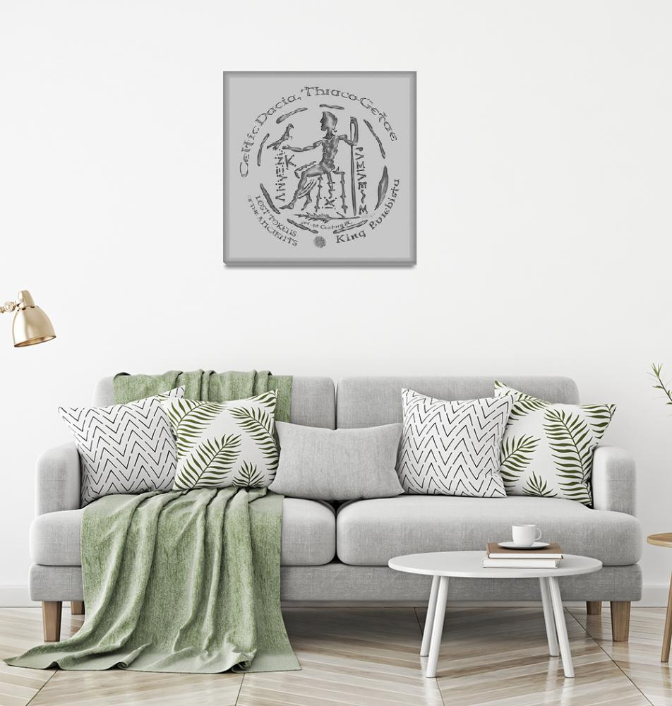 """Celtic King Burebista Coin""  by foxvox"