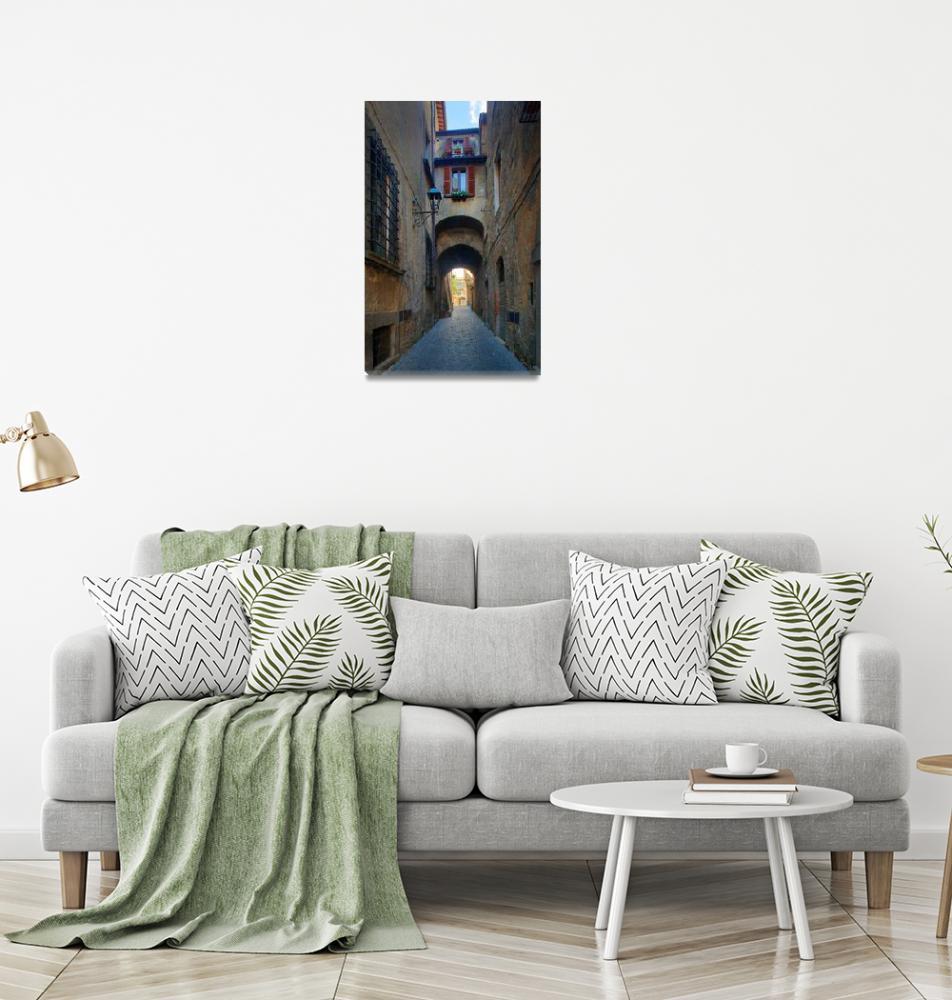 """Orvieto Alley""  (2010) by Inge-Johnsson"
