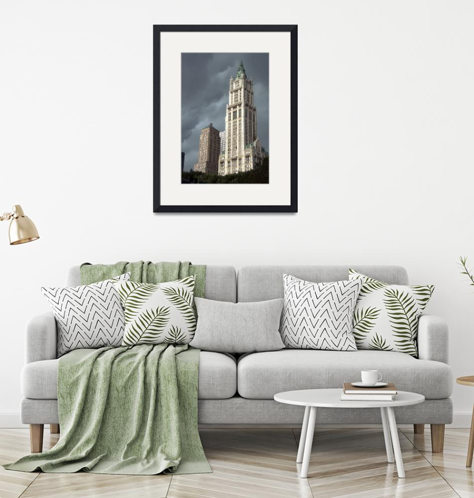 """Woolworth Building""  (2008) by mentat"