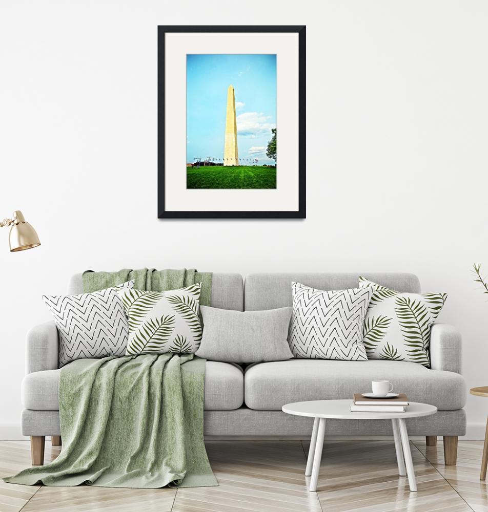 """""""Washington Monument""""  (2015) by Hollagraphy"""