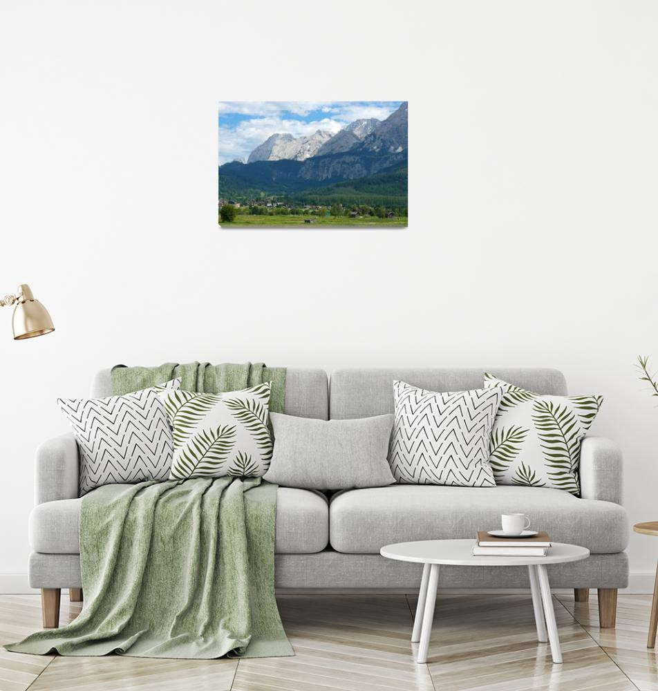 """Bavarian Alps""  (2008) by Groecar"