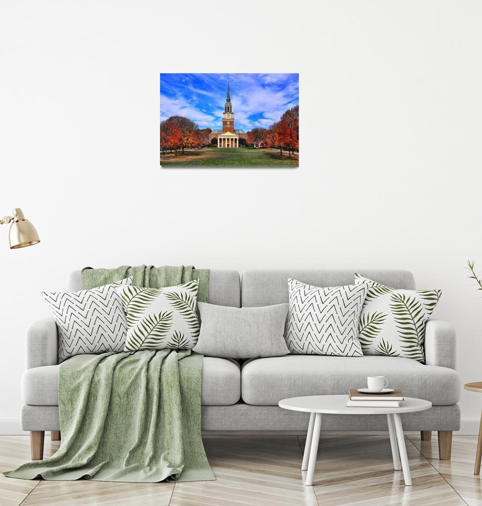 """""""Wait Chapel Landscape""""  (2009) by mikesmithphotography"""