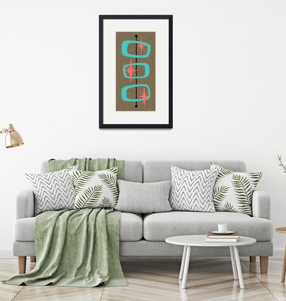 """""""Mid Century Modern Shapes 7""""  by DMibus"""