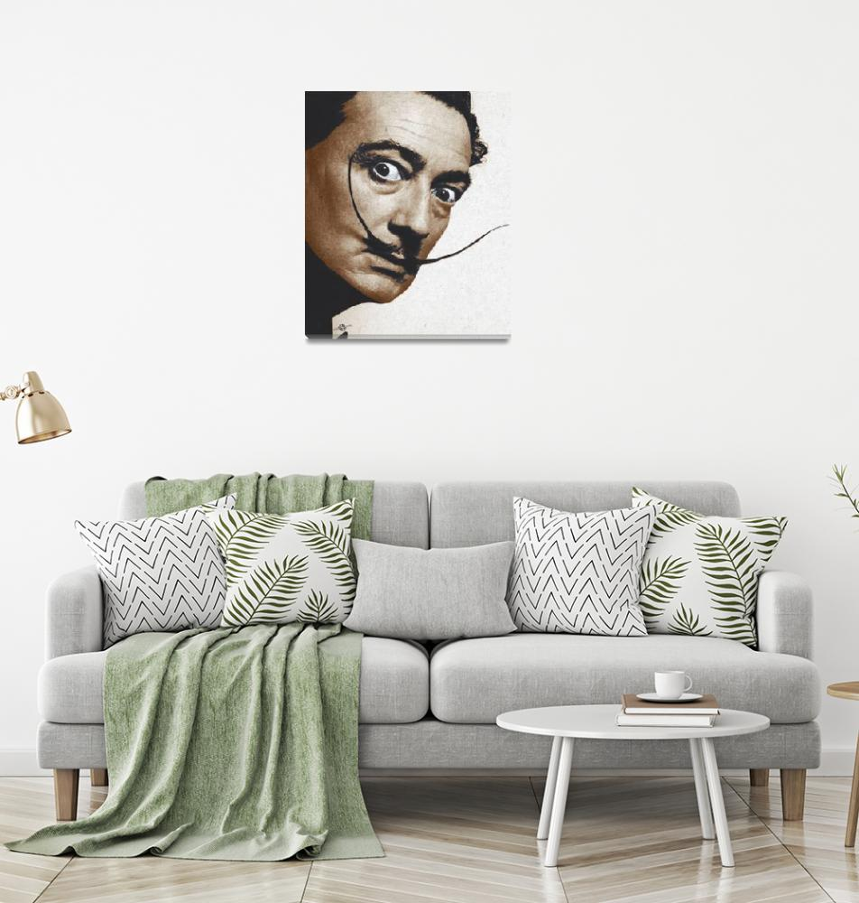 """""""Salvador Dali Realistic Painting""""  (2017) by RubinoFineArt"""