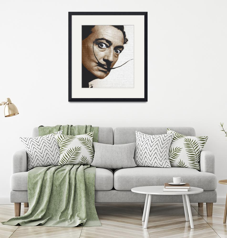 """Salvador Dali Realistic Painting""  (2017) by RubinoFineArt"