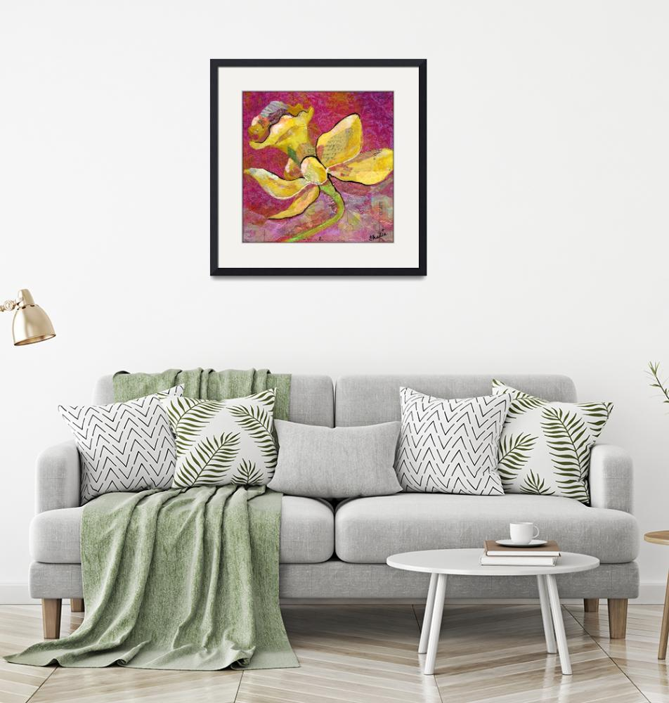 """Floral Collage Prints by Art of Shadia""  by ArtOfShadia"