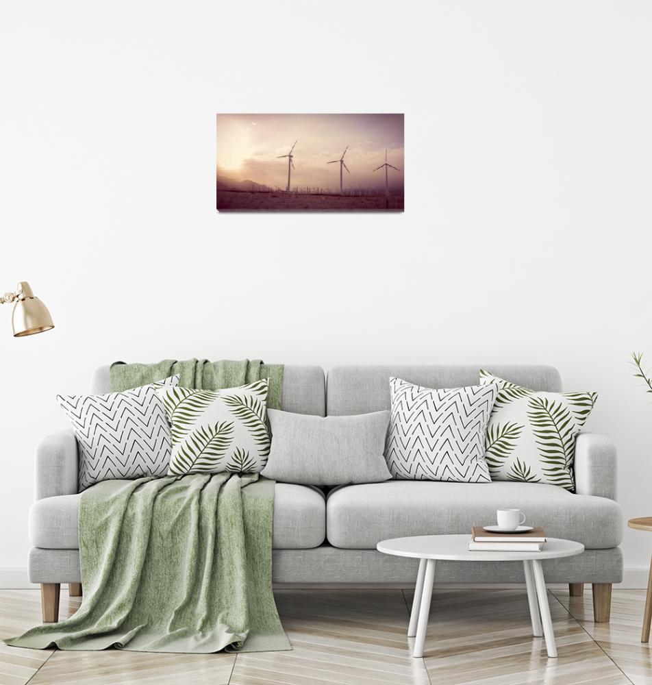 """Windmills Dance Sweet California""  by amynnasser"