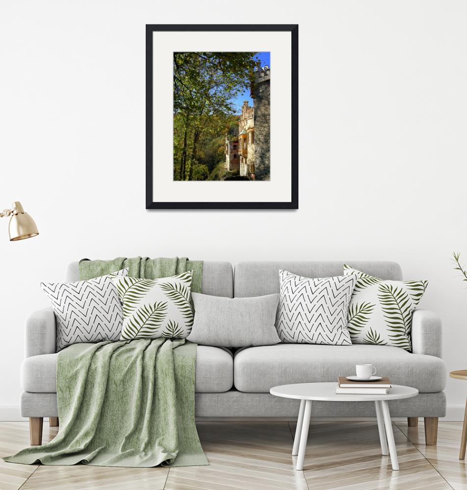 """""""Nature and a Castle in Harmony""""  by Artsart"""