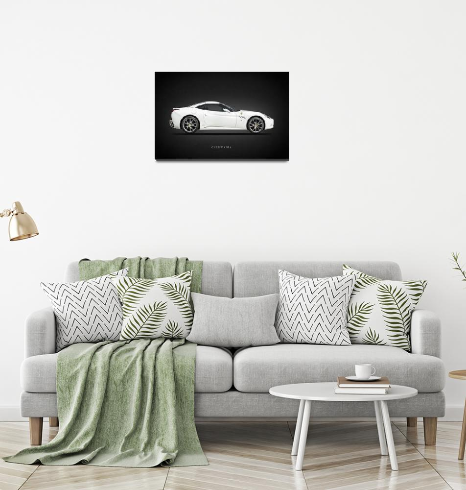 """The Ferrari California""  by mark-rogan"