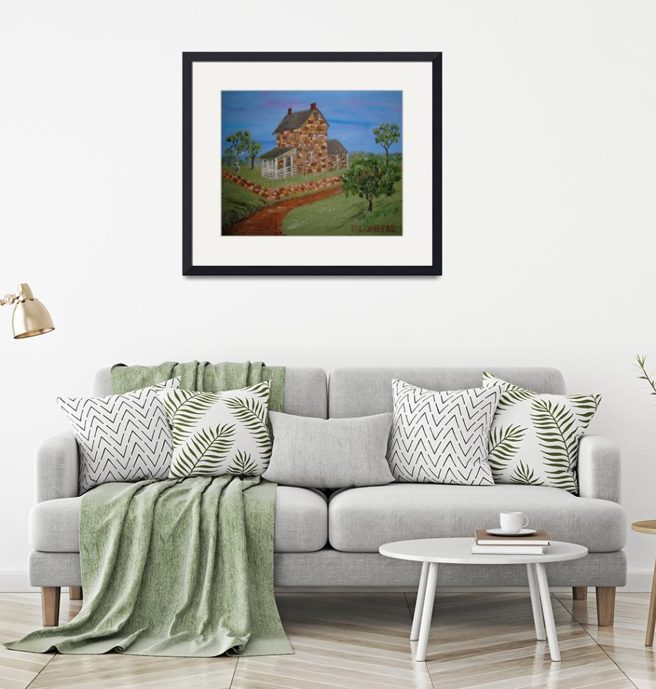 """""""Country Cottage""""  (2009) by artwrite"""