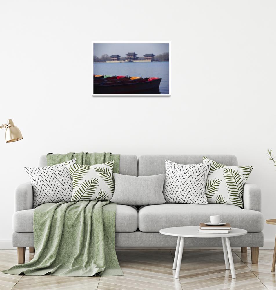"""D35 0072 Summer Palace Boats""  by Bob_Handelman"
